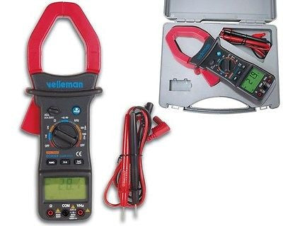 Velleman DCM268 Clamp On Multimeter