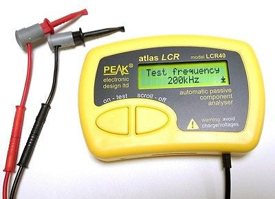 Peak Atlas LCR40 Passive Component Analyzer