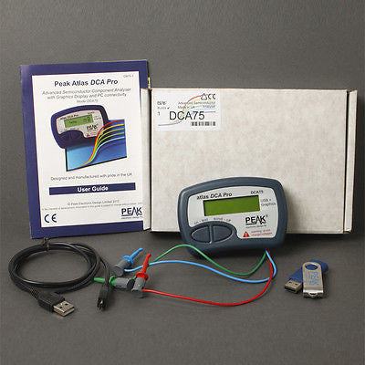 DCA75 Advanced Semiconductor Analyzer with Curve Tracing