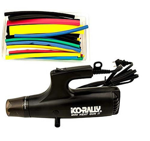 Mini Heat Gun and Shrink Tubing Kit