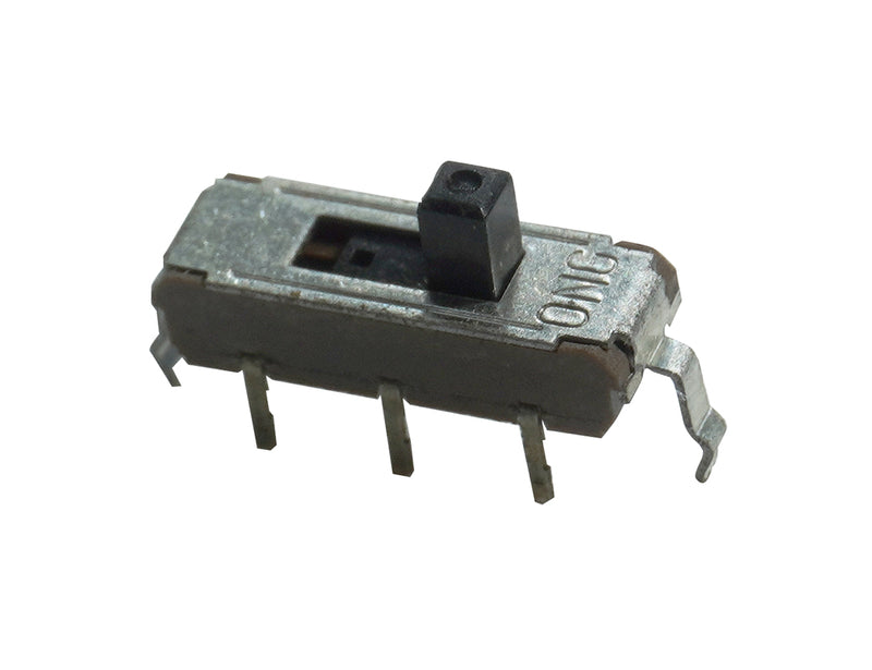 SPDT Momentary Slide Switch, pkg of 3