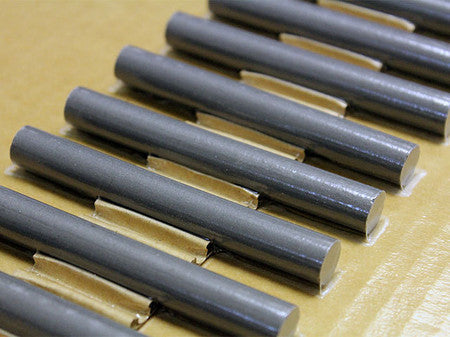 "33 Material Ferrite Rod Diameter 0.5"", Length 4"""