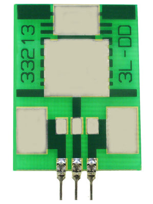 3 Pin SIP Surface Mount Adapter / Surfboard