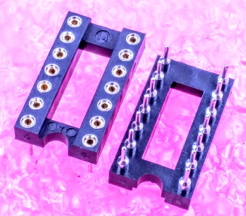 "14-pin 0.3"", IC Socket"