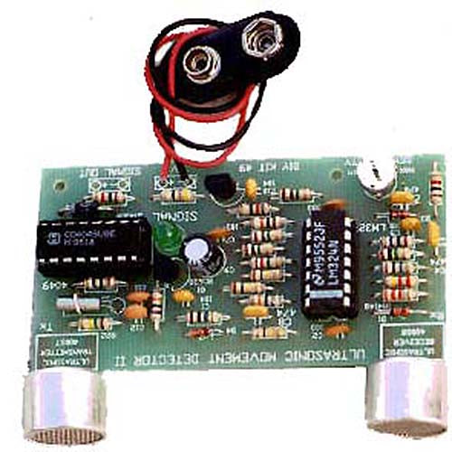 Ultrasonic Movement Detector, KIT - Requires Assembly