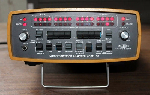 Systron Donner, Microprocessor Analyzer Model 50
