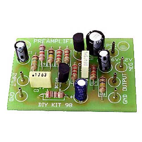 Preamplifier, KIT - Requires Assembly