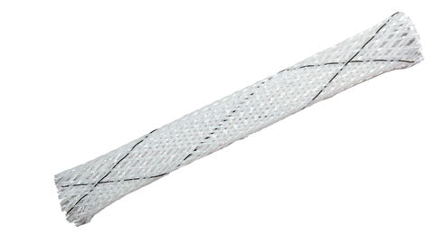 "High Temperature 0.5"" Panduit Braided Sleeving, by the foot"