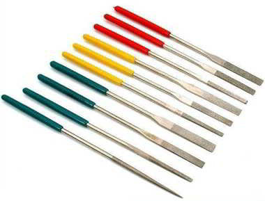 Diamond Coated Needle File Set