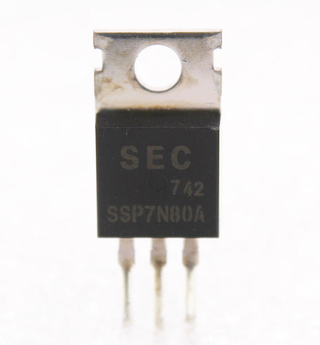 SSP7N80A N-Channel 7A, 800V MOSFET