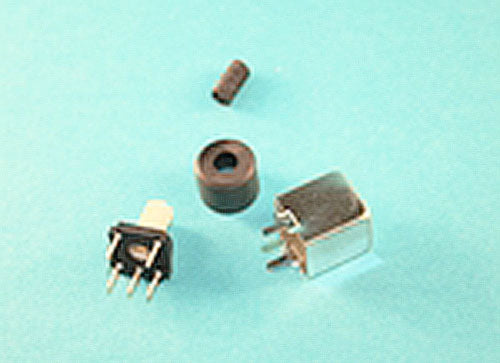 Iron Powder Shielded Variable Inductor, 50-200Mhz