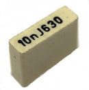 Polyester Capacitor, 0.01uF Thin Film, Single-In-Line, 0.01uF