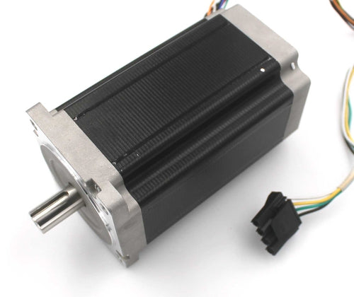 SEI, NEMA34 Single Shaft 4.5A/1666oz-in Stepper Motor