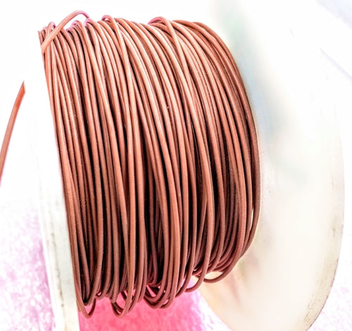 18 AWG Brown, Stranded PVC wire, By the foot