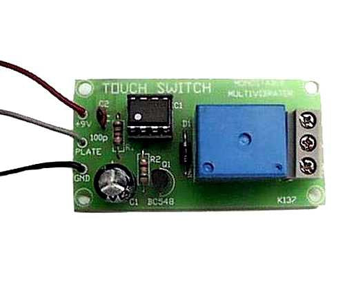Touch Switch and Timer, KIT - Requires Assembly