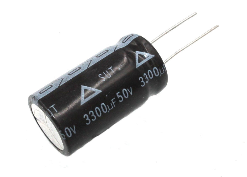 3300uF 50V, Radial Electrolytic Capacitor