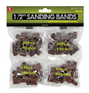 "102 piece set of 1/2"" Sanding Bands"
