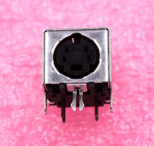 4-pin Female, Mini DIN Connector