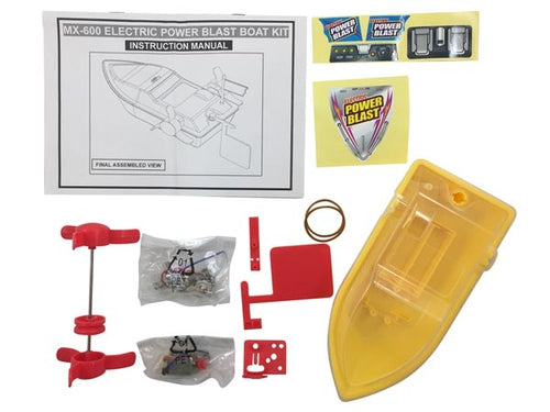 Solderless, Power Boat KIT - Requires Assembly