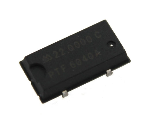22 MHz, Oscillator - Surface mount