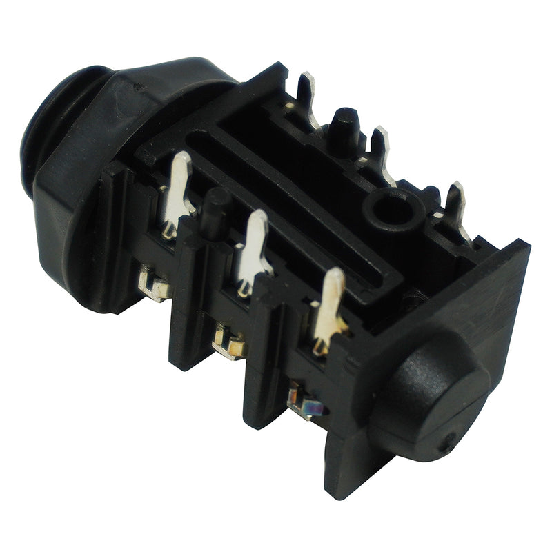 "1/4"" Stereo Phone Jack, Panel Mount"
