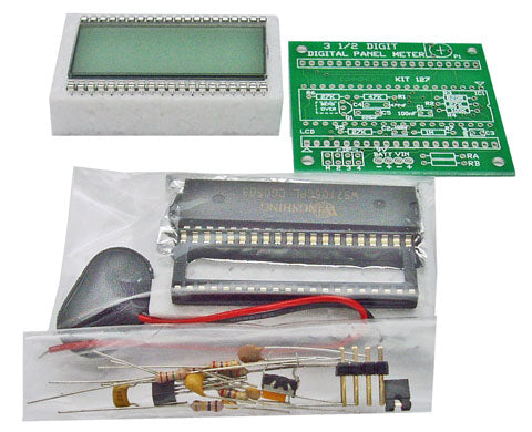 3½ Digit Panel Meter, KIT - Requires Assembly