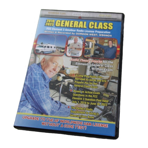 General Class 2019-2023 CD Audio Book, by Gordon West