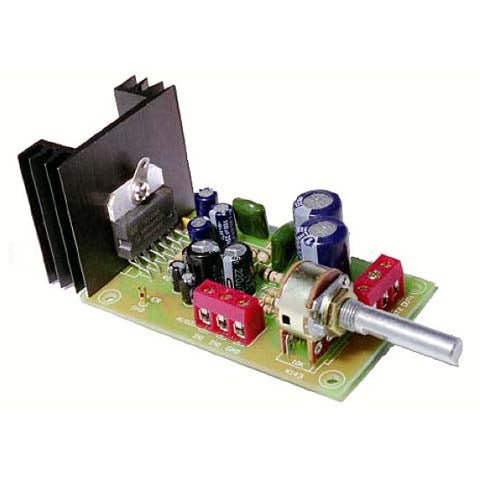 6W to 10W Stereo Amp, KIT - Requires Assembly