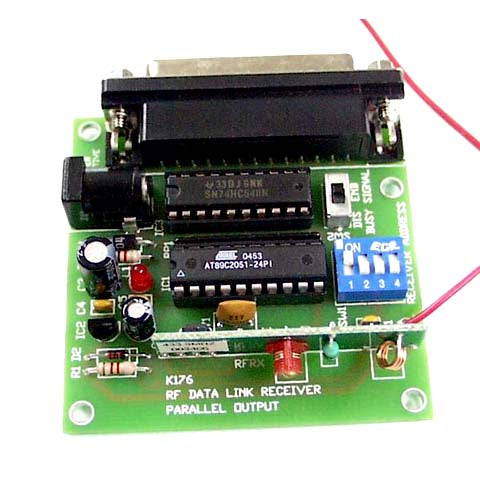 RF Data Link, Parallel Receiver - Requires Assembly