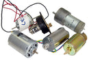 Assortment of DC Hobby Motors Pkg of 6