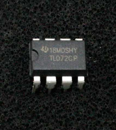TL072CP Operational Amplifier IC