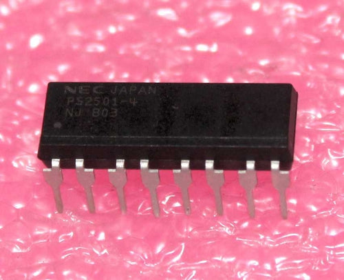 PS2501-4 HIGH ISOLATION VOLTAGE FOUR CHANNEL PHOTOCOUPLER