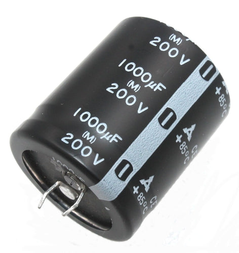 Panasonic, Radial Electrolytic Capacitor 1000uF, 200 Volt