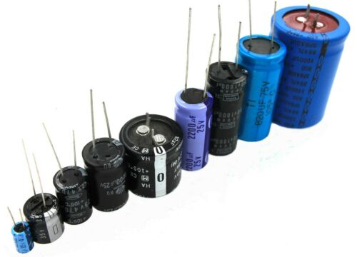 12uF 100V, Radial Electrolytic Capacitor