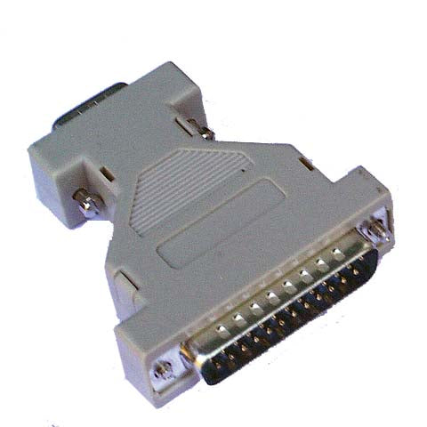 DB-25 Male to, DB-9M Adapter