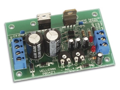 Velleman, Symmetric 1A Power Supply Kit