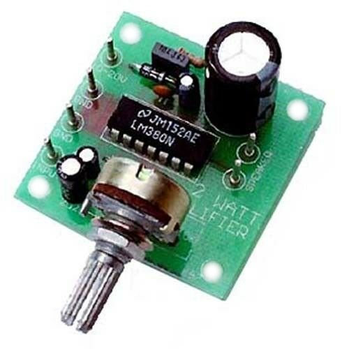 2W Mono Amplifier Module, KIT - Requires Assembly