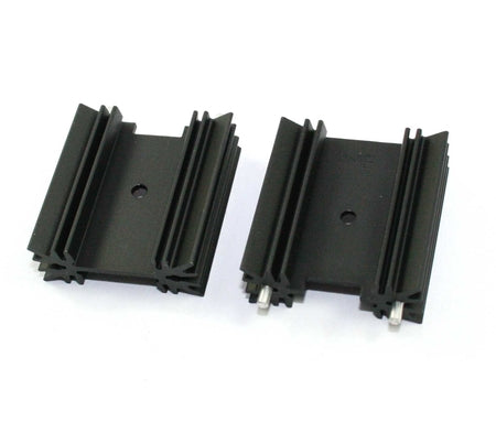 TO-220, Black Anodized Heatsink