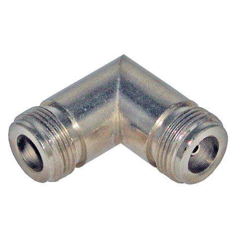 """N"" Female-Female, Elbow RF Adapter"