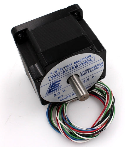 Lin Engineering, NEMA34 Dual Shaft 4.5A Stepper Motor