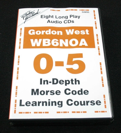 In Depth Morse Code 0-5 WPM, by Gordon West