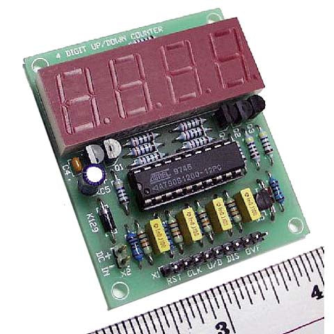 4-Digit Up/Down Counter Electronics KIT- Assembly Required