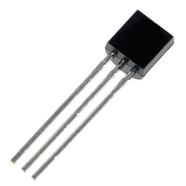 PN2222A/2N2222A Transistor, Vceo 40V, Ic 600mA