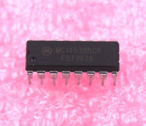 MC14538B Dual Precision Monostable Multivibrator
