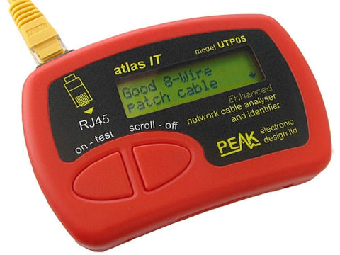 Peak Atlas UTP05 Network Cable Tester