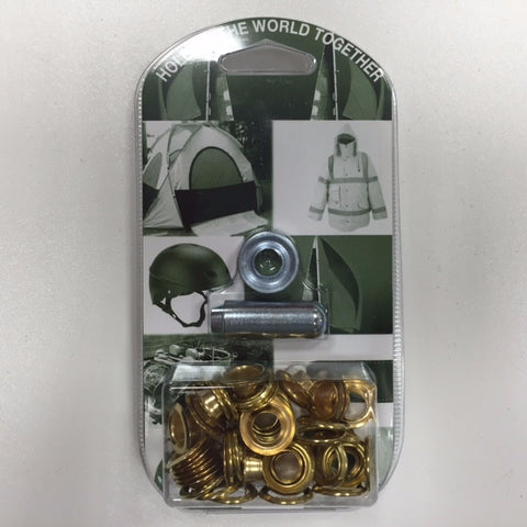 BRASS EYELET KIT INCLUDING TOOL