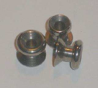 LACING BUTTON - STAINLESS
