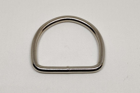 Nickel Plated Welded Steel D Ring