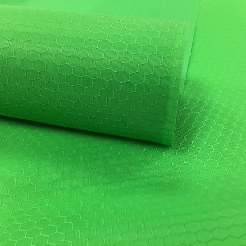 WATER RESISTANT PU COATED NYLON RIPSTOP - HEXAGON