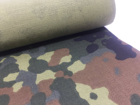 POLYCOTTON WITH FLECTARN PRINT